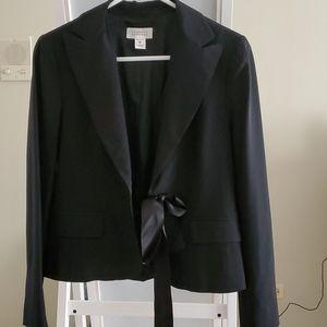 Barney's black blazer